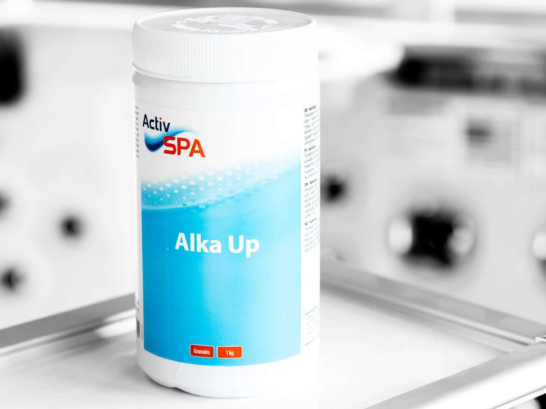 Granulat som hever alkalitet i badevann, Alka Up, 1 kg