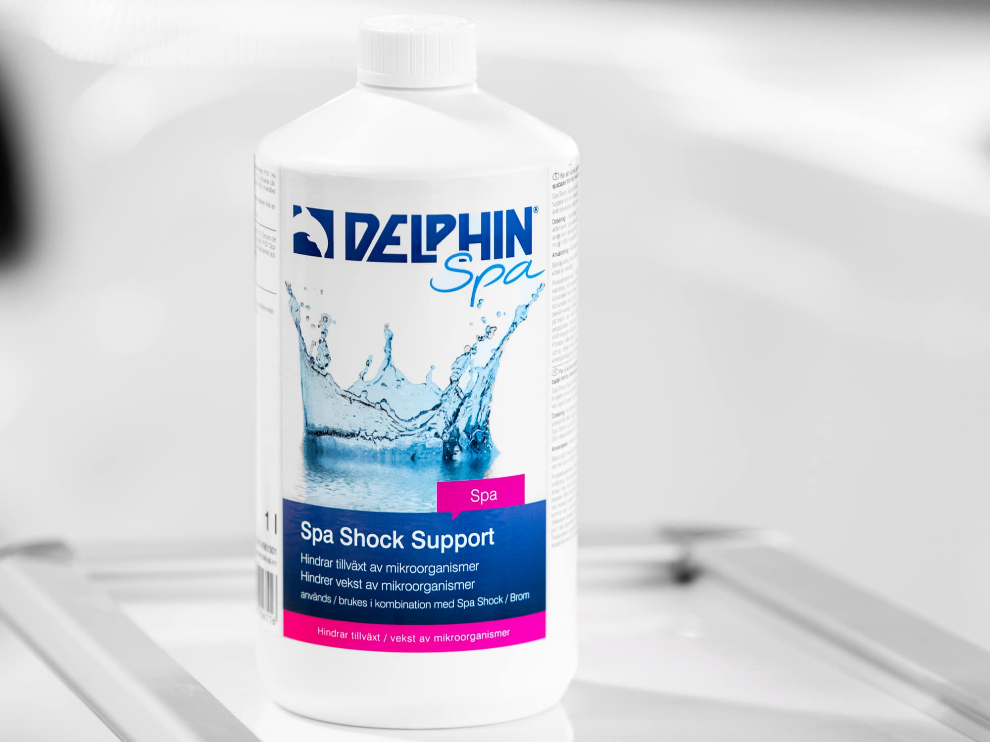 Desinfiserende middel til spabad, Spa Shock Support, 1 liter