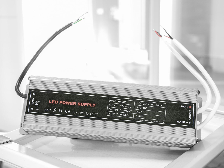 Produktbilde - Omformer - Power LED Supply - 230V / 12V