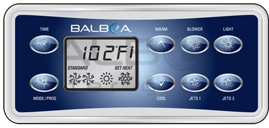 Balboa Vl801d Display All4spas