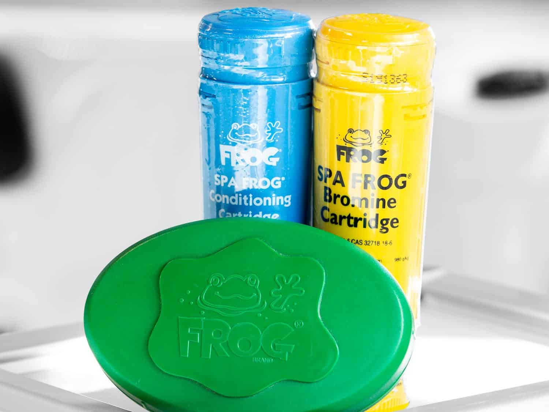 Mineral- og brominbasert vannvedlikehold for spabad, Spa Frog