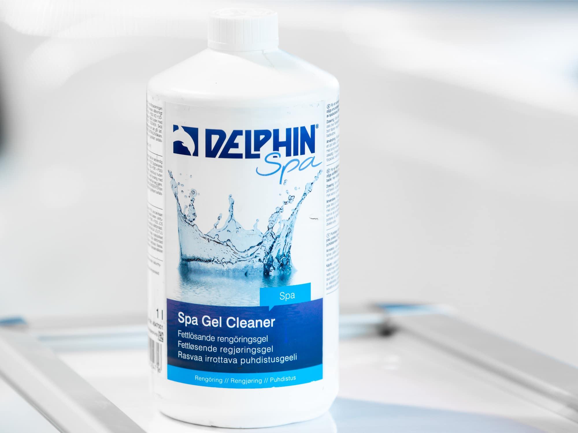Rengjøringsmiddel til spabad, Spa Gel Cleaner, , 1 liter