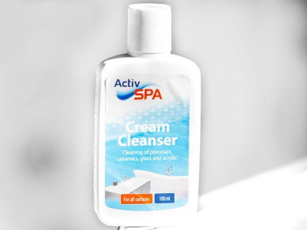 100ml Cream Cleanser, rengjøring overflater av akryl, porselen og glass