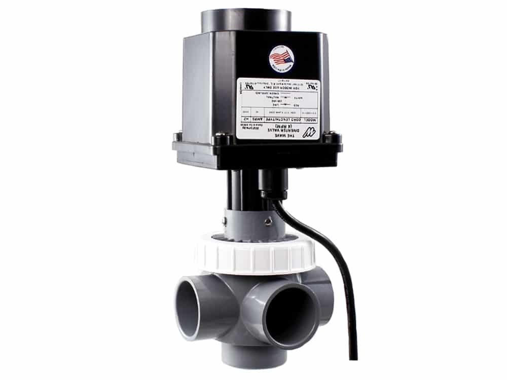 Produktbilde - Motorisert avledningsventil (Wave-pumpe) - Waterway