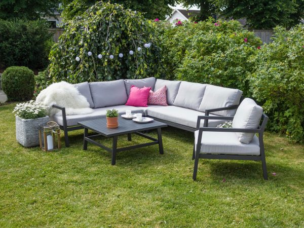 Coventry hagegruppe med stol - Produktbilde