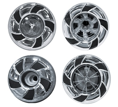 cal spas candycane jets - stainless steel