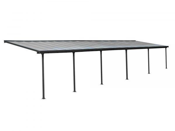 Produktbilde - Terrassetak - 3x10,35 meter - grå - PALRAM Applications