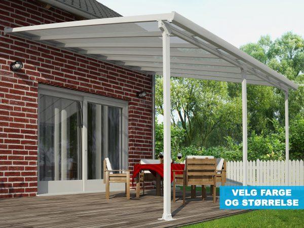Terrassetak - velg farge - velg størrelse - PALRAM-Applications