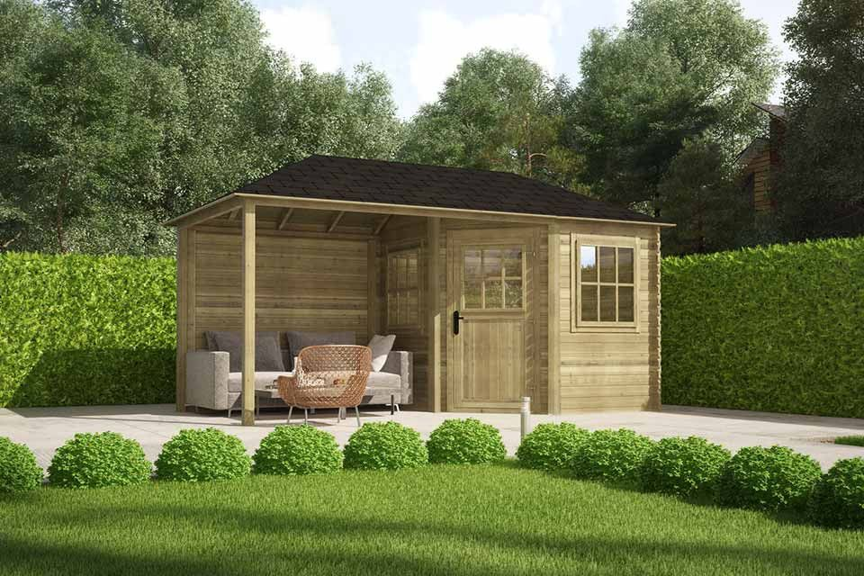 Hagehus og uteboder - Klikk her for å se alle våre modeller