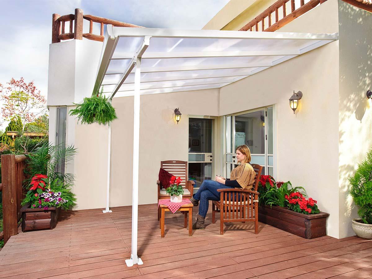 Palram terrassetak - Velg farge og størrelse