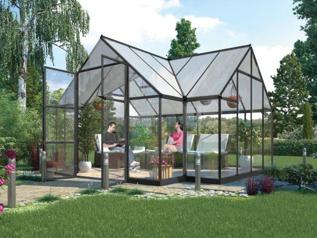 Produktbilde - Drivhus 11 m² - PALRAM Applications
