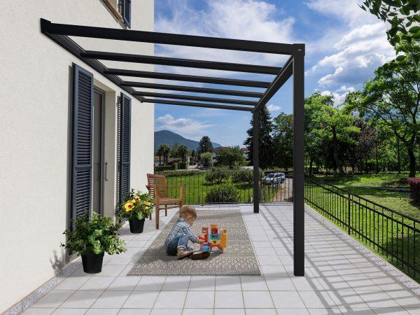 Produktbilde - Palram terrassetak - 3,4x3,7 meter