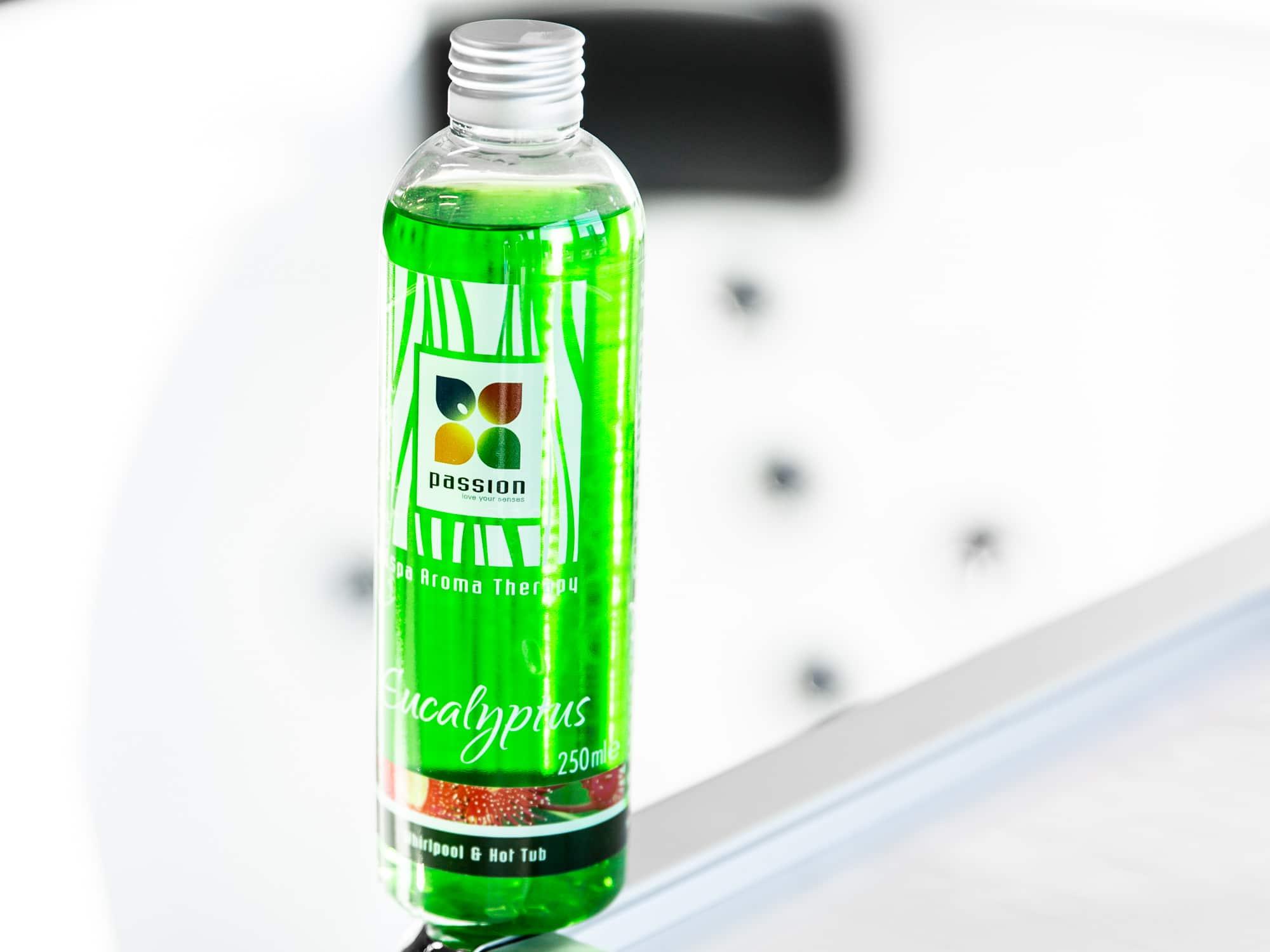 Ecualyptus aromaolje, grønn farge