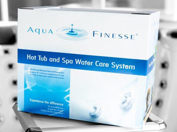 Produktbilde - Aqua Finesse - Vannvedlikeholdspakke for spabad