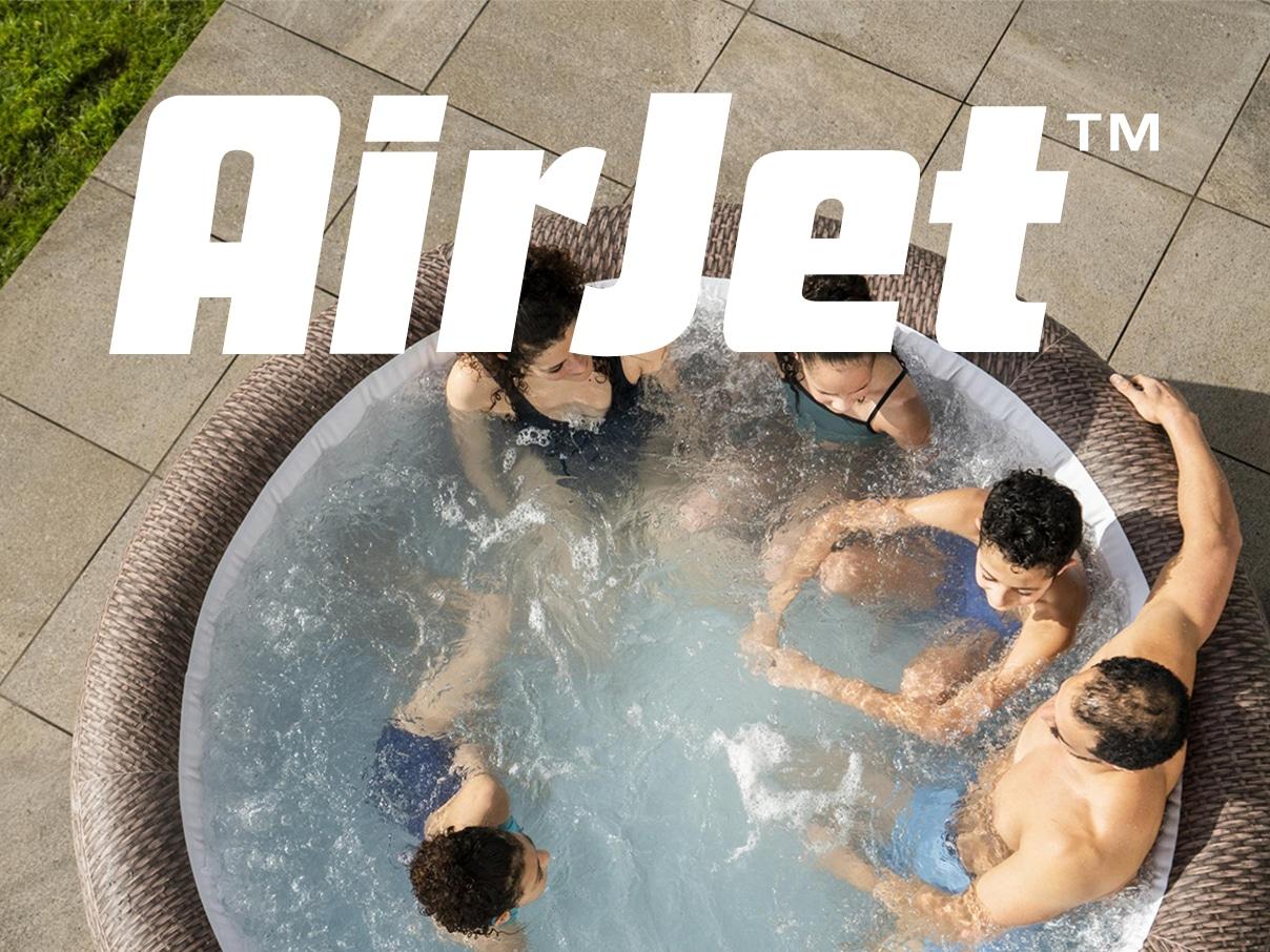 Miniartyrbilde - AirJet massasjesystem