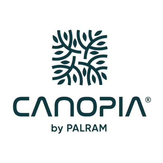 Palram Canopia logo vertical