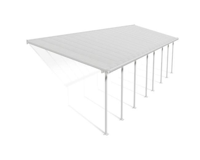 FERIA™ terrassetak, 3x10,35 meter hvit, PALRAM