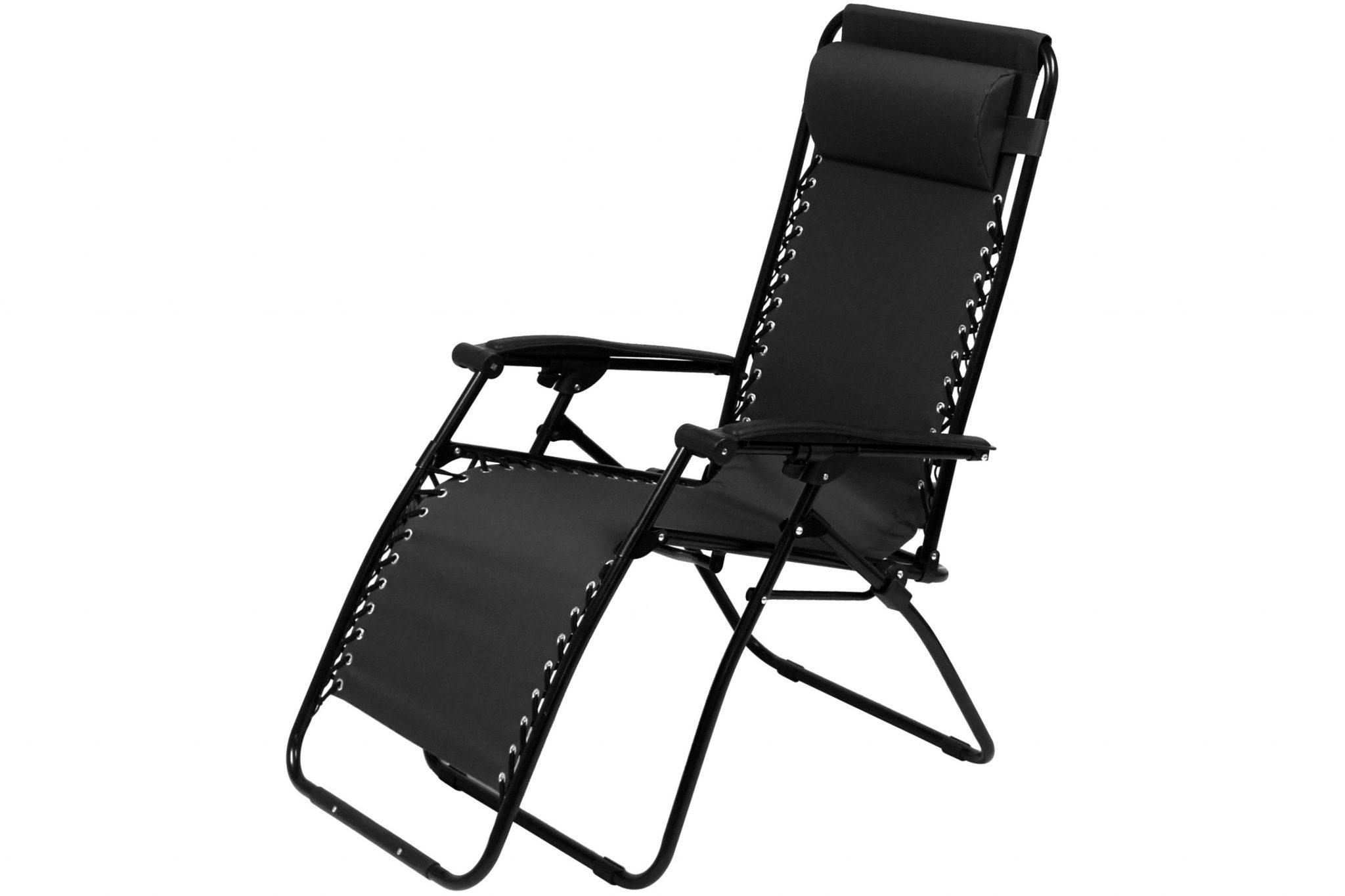 campingstol med regulerbar rygg