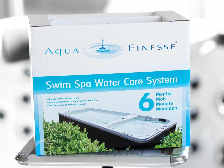 Vannvedlikeholdspakke for swim spa (motstrømsbasseng), produktbilde